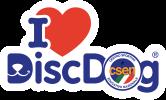 I LOVE DISC DOG a.s.d. logo